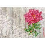 Diamond Painting Greeting Card Flower Printed Birthday Valentine Bless Gift
