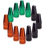 12pcs Mountain Bike MTB Bicycle Tire Wheel French Air Valve Caps Cover