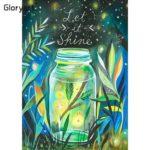 Gloryart 5D DIY Full Drill Diamond Painting Bottle Embroidery Kit (lw031)