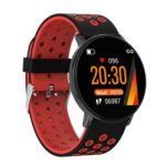 W8S Color Screen Smart Bracelet Heart Rate Monitor Fitness Tracker (Red)