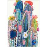 5D DIY Full Drill Diamond Painting Cactus Embroidery Mosaic Craft Kit Decor