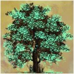 5D DIY Full Drill Diamond Painting Tree Embroidery Mosaic Craft Kits Decor