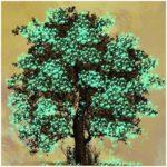 5D DIY Full Drill Diamond Painting Tree Embroidery Mosaic Craft Kits Decor
