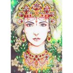 5D DIY Special Shaped Diamond Painting Beauty Embroidery Mosaic Kit (D1094)