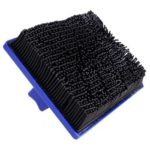 Multi-functional Household Wall Painting Decorative Roller Brushes (Black)