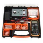 Dual Hole Car Spark Plug Tester Ignition Plug Detector Analyzer Tool Set