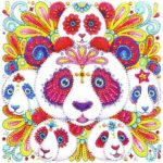 5D DIY Special Shaped Diamond Painting Panda Cross Stitch Mosaic Craft Kits