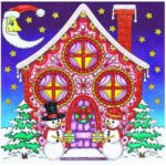 5D DIY Special Shaped Diamond Painting House Cross Stitch Mosaic Craft Kits