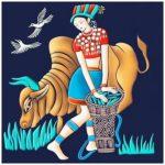 5D DIY Full Drill Diamond Painting Girl Embroidery Mosaic Kit Home Decor