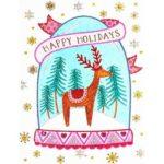 5D DIY Special Shaped Diamond Painting Elk Cross Stitch Mosaic Craft Kits