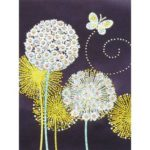 5D DIY Special Shaped Diamond Painting Dandelion Cross Stitch Mosaic Kits