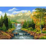 5D DIY Full Drill Diamond Painting Scenery Cross Stitch Mosaic Craft Kits
