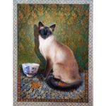 5D DIY Full Drill Diamond Painting Cat Embroidery Mosaic Craft Kit (LD062)