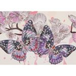 5D DIY Special Shaped Diamond Painting Butterfly Cross Stitch Mosaic Kit