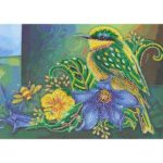 5D DIY Special Shaped Diamond Painting Bird Cross Stitch Mosaic Craft Kit