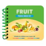 Fruits Painting Manual Knowledge Cards DIY Diamond Painting Kids Puzzle Toy