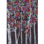 5D DIY Special Shaped Diamond Painting Flower Tree Cross Stitch Mosaic Kit