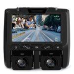 A1 2160P Dual Rotatable Lens Car DVR WDR G-Sensor Dash Cam Video Recorder