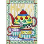 5D DIY Special Shaped Diamond Painting Kettle Cross Stitch Mosaic Craft Kit