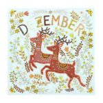 5D DIY Special Shape Diamond Painting December Embroidery Craft Kit (R8422)