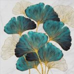 5D DIY Full Drill Diamond Painting Leaf Embroidery Mosaic Kit Home Decor