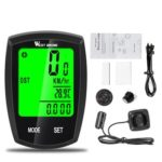 WEST BIKING Bicycle Computer Backlight Touch Screen Speedometer (Wired)