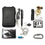 12 in 1 Outdoor Survival Kit EDC SOS Emergency Tools for Camping Wilderness