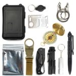 11 in 1 Outdoor Survival Kit EDC SOS Emergency Tools for Camping Wilderness
