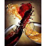 5D DIY Full Drill Diamond Painting Wine Embroidery Mosaic Craft Kit Decor
