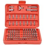 100pcs CR-V Screwdriver Bits Set Phillips Slotted Torx Bit Repair Tools