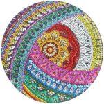 5D DIY Special Shaped Diamond Painting Mandala Embroidery Mosaic Kit Decor