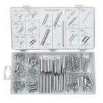 200pcs Zinc Plated Compression Extension Springs for Repairs Tension Spring
