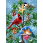 5D DIY Full Drill Diamond Painting Bird Embroidery Mosaic Craft Kit Decor