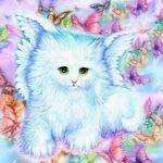 5D DIY Full Drill Diamond Painting Cat Cross Stitch Mosaic Kit Home Decor