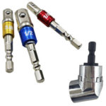3pcs Hex Drill Bit Socket Adapter Electric Impact Driver Conversion Bar