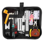 Guitar Repair Maintenance Tool Kit String Action Ruler Gauge Hex Wrench Set
