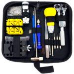 148pcs Watch Case Opener Link Pin Remover Screwdriver Repair Tools (Blue)