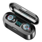 F9 TWS Bluetooth Earphone Touch Wireless Sport Earbuds w/Display Charge Box