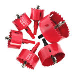 Multi-function Hole Saw Cutter Hole Opener Woodworking Drill Bit (6pcs)