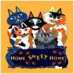 5D DIY Full Drill Diamond Painting Cats Cross Stitch Mosaic Kit Home Decor