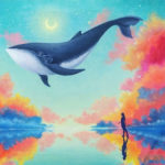 5D DIY Full Drill Diamond Painting Dolphin Embroidery Mosaic Kit Home Decor