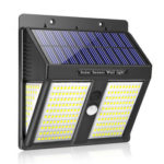 Outdoor 250LED Solar Motion Sensor Wall Light Waterproof Yard Security Lamp