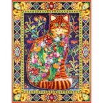 5D DIY Special Shaped Diamond Painting Cat Cross Stitch Mosaic Craft Kit