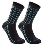 DH Sports Compression Socks Breathable Socks for Outdoor Sport (Black Blue)