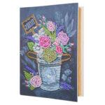 DIY Flower Diamond Painting Kraft Paper Photo Album Picture Storage Case