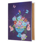 DIY Flower Diamond Painting Photo Album Kraft Paper Picture Case Gifts