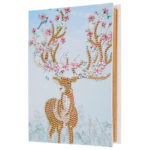 DIY Elk Diamond Painting Kraft Paper Photo Album Family Picture Case Crafts