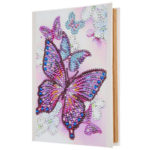 DIY Butterfly Diamond Painting Photo Album Kraft Paper Family Picture Case
