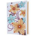 DIY Flower Diamond Painting Kraft Paper Photo Album Picture Postcard Case