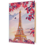 DIY Tower Diamond Painting Kraft Paper Photo Album Family Picture Case Gift